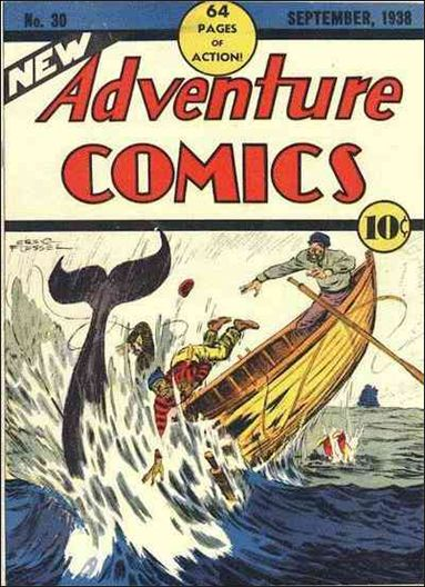 New Adventure Comics 30-A by DC