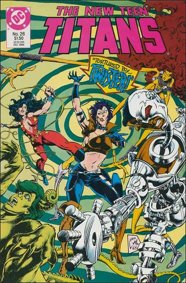 New Teen Titans (1984) 26-A by DC