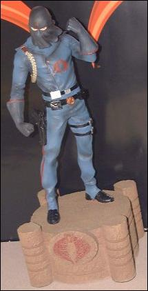 G.I. Joe Statues Cobra Commander 1/1500 by Palisades Toys