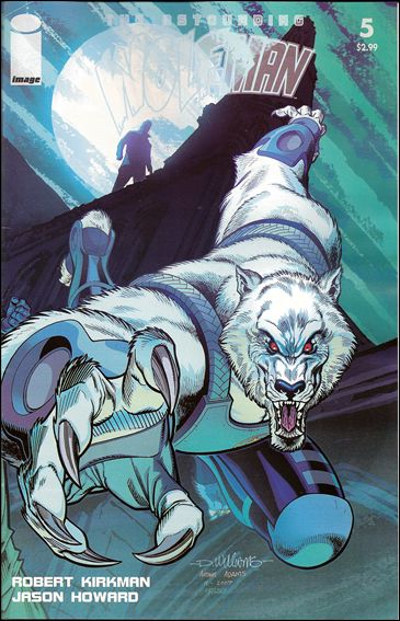 Astounding Wolf-Man 5-B by Image