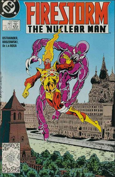 Firestorm The Nuclear Man (1987) 72-A by DC