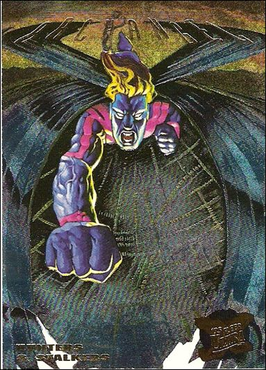 1995 Fleer Ultra X-Men (Hunters & Stalkers Subset) 9-B by Fleer