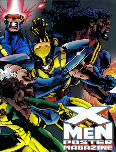 X-Men Poster Magazine 4-A by Marvel