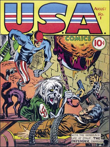 USA Comics 1-A by Marvel