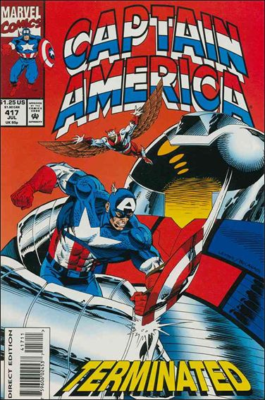 Captain America (1968) 417-A by Marvel