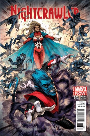 Nightcrawler (2014) 3-B by Marvel