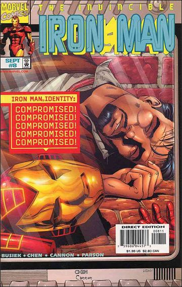 Iron Man (1998) 8-A by Marvel