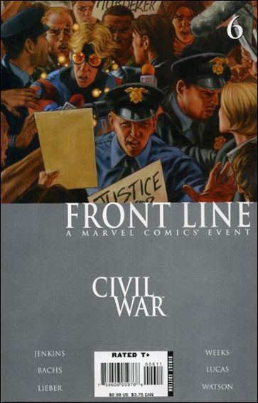 Civil War: Front Line 6-A by Marvel