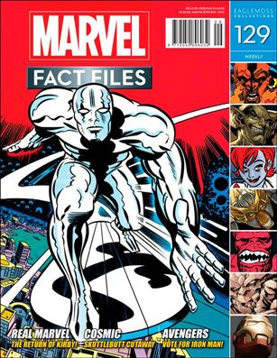 Marvel Fact Files 129-A