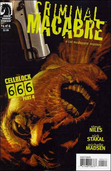 Criminal Macabre: Cell Block 666 4-A by Dark Horse