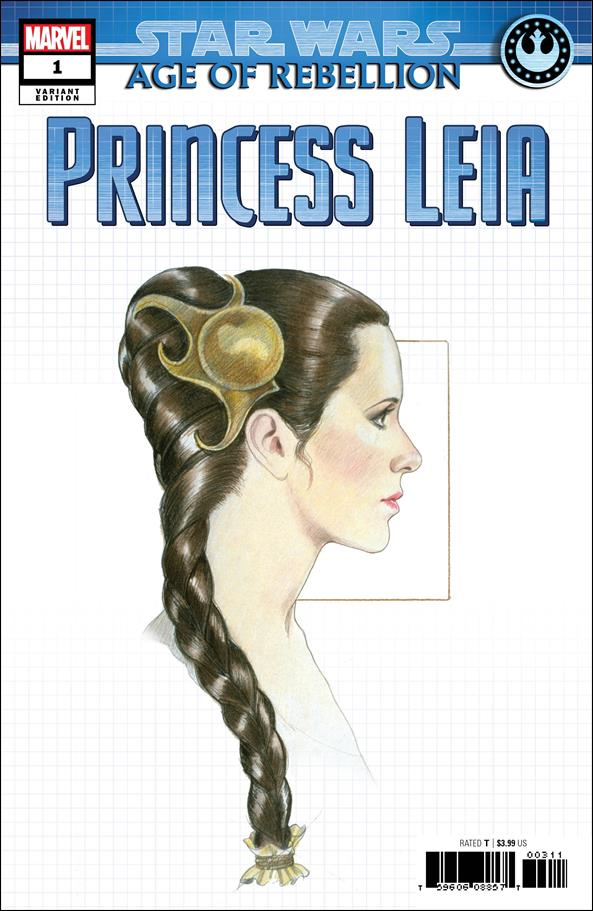 Star Wars: Age of Rebellion - Princess Leia 1-D by Marvel