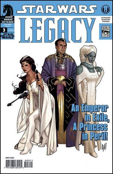 Star Wars: Legacy (2006) 3-B by Dark Horse