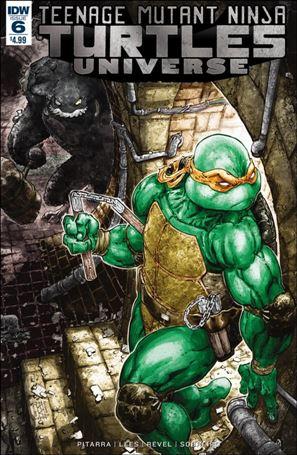 Teenage Mutant Ninja Turtles Universe 6-A