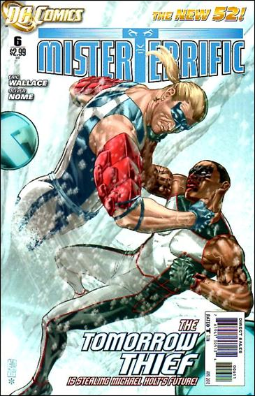 Mister Terrific 6-A by DC