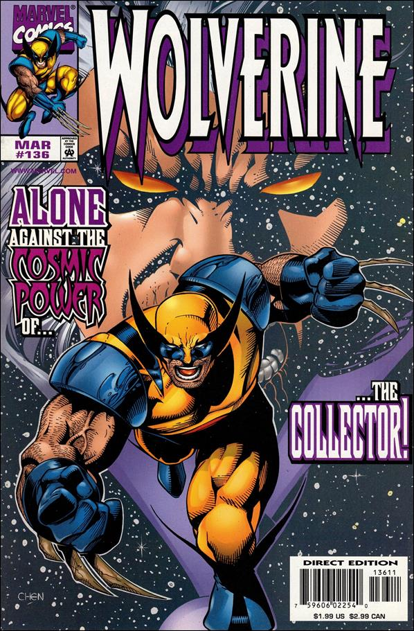 Wolverine (1988)  136-A by Marvel
