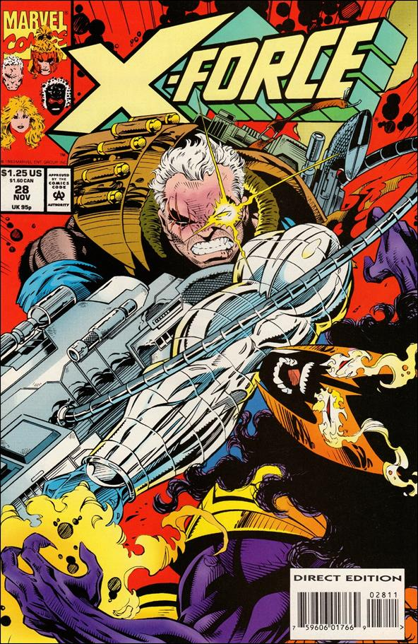 X-Force (1991) 28-A by Marvel