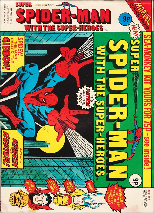 Spider-Man: Comics Weekly (UK) 160-A by Marvel UK