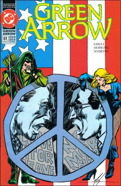 Green Arrow (1988) 61-A by DC