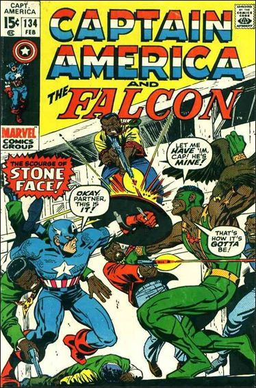 Captain America (1968) 134-A by Marvel