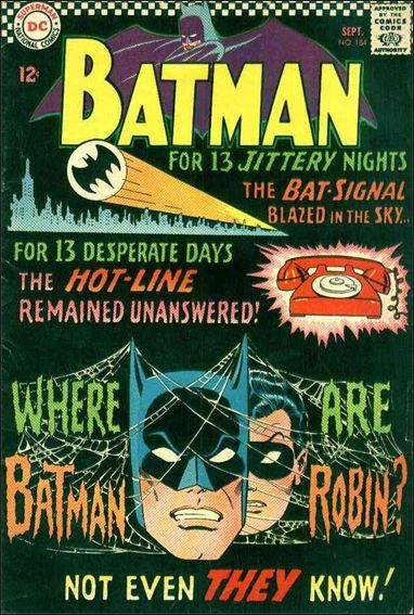 Batman (1940) 184-A by DC