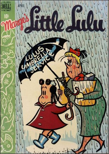 Marge's Little Lulu 10-A by Dell