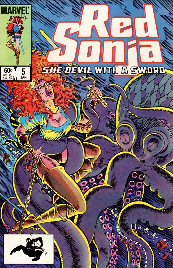 Red Sonja (1983/08) 5-A by Marvel