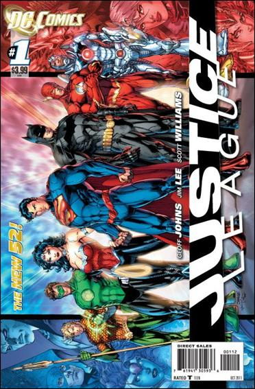 Justice League (2011) 1-G by DC