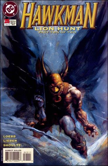 Hawkman (1993) 25-A by DC