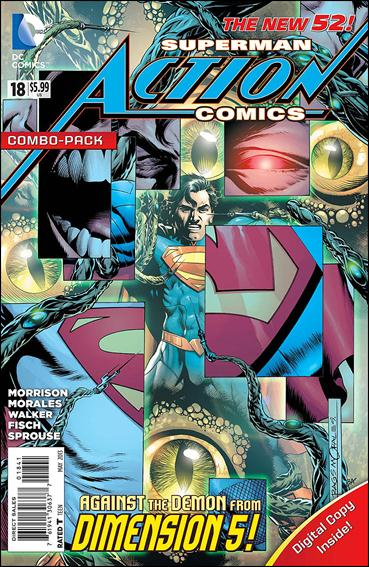 Action Comics (2011) 18-B by DC