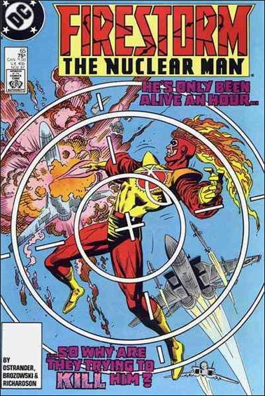 Firestorm The Nuclear Man (1987) 65-A by DC