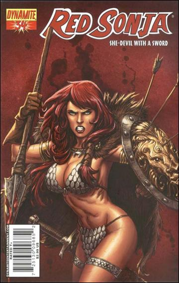 Red Sonja 34-B by Dynamite Entertainment