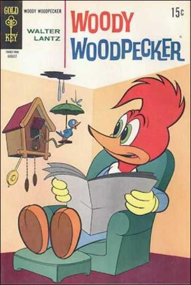 Walter Lantz Woody Woodpecker  106-A by Dell