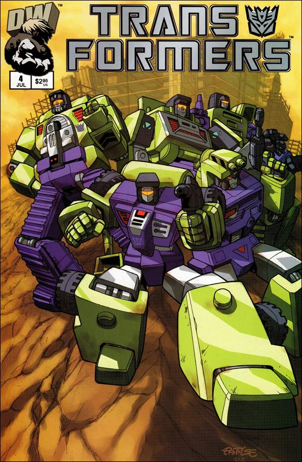 Transformers: Generation 1 (2002) 4-B by Dreamwave