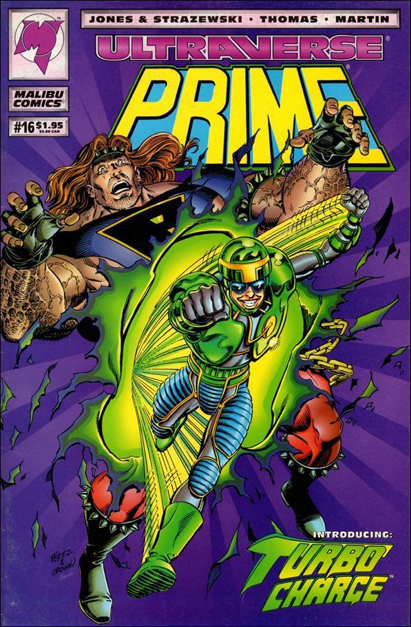 Prime (1993) 16-A by Malibu