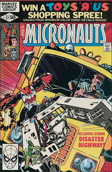 Micronauts (1979) 22-A by Marvel