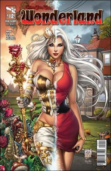 Grimm Fairy Tales Presents: Wonderland 12-A by Zenescope Entertainment