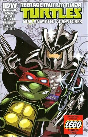 Teenage Mutant Ninja Turtles New Animated Adventures 13-B