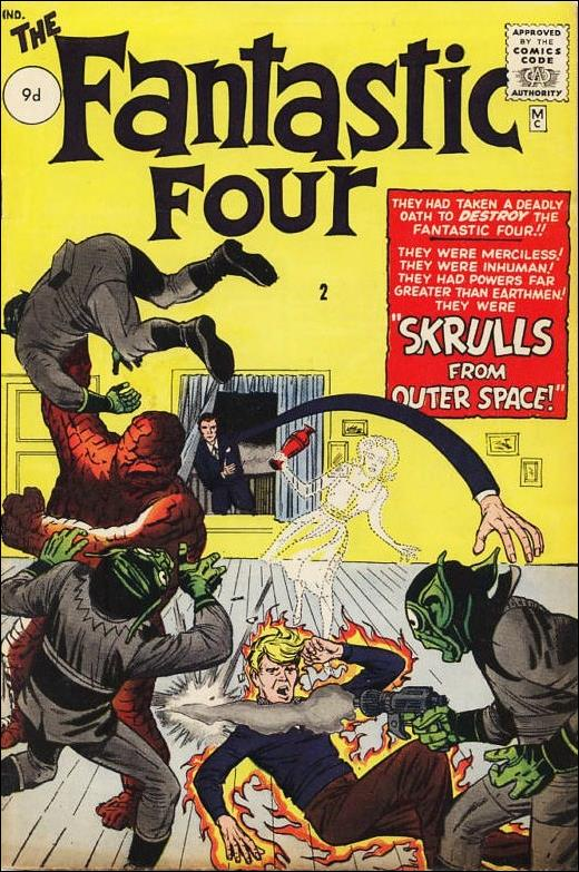 Fantastic Four (1961) 2-B by Marvel