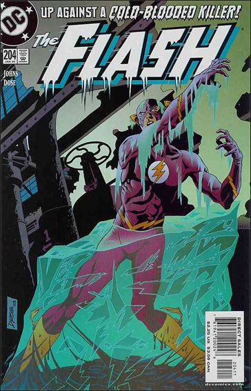 Flash (1987) 204-A by DC