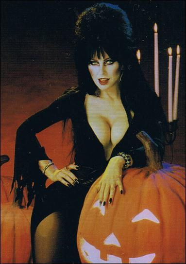 Elvira, Mistress of Omnichrome (Base Set) 6-A by Comic Images