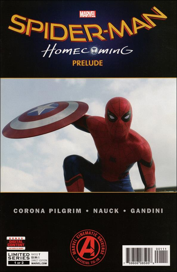 Marvel's Spider-Man: Homecoming Prelude 1-A by Marvel