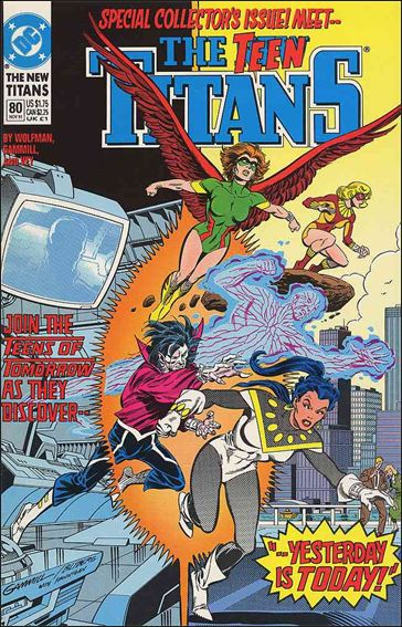 New Titans 80-A by DC