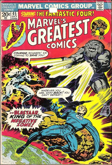 Marvel's Greatest Comics 45-A by Marvel
