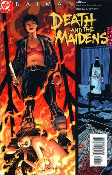 Batman: Death and the Maidens 6-A by DC
