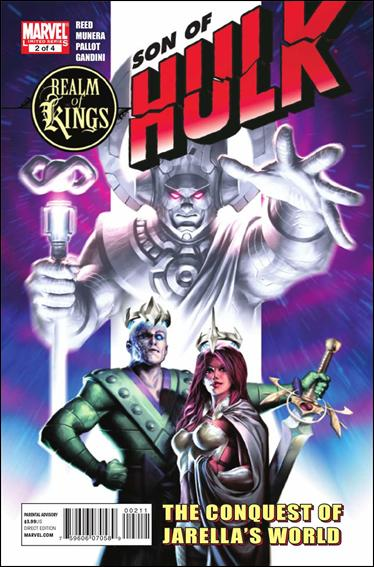 Realm of Kings: Son of Hulk 2-A by Marvel