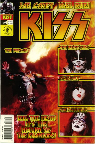 Kiss (2002) 4-B by Dark Horse