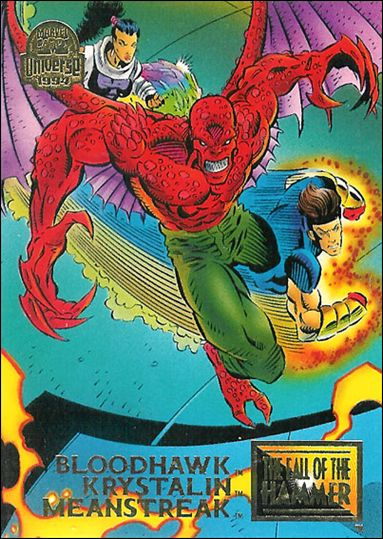 Marvel Universe: Series 5 (Base Set) 85-A by Fleer