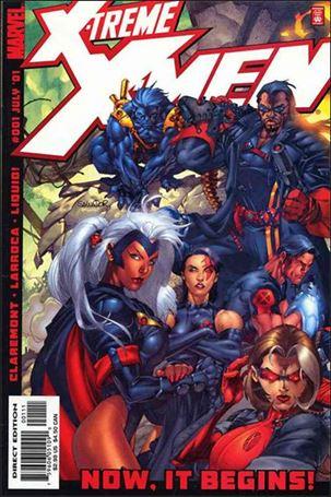 X-Treme X-Men (2001) 1-A