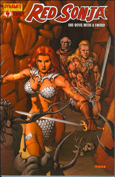 Red Sonja (2005) 4-D by Dynamite Entertainment