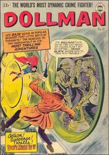 Doll Man (1963) 11-A by Super Comics